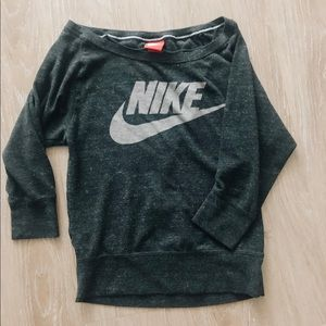 Nike Top with boatneck